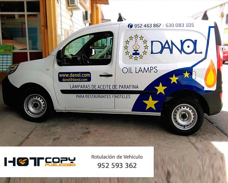 danol rotulacion coche empresa malaga mijasa fuengirola