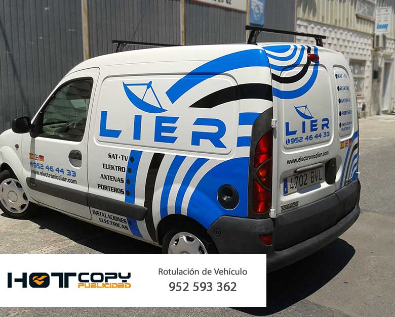 impresion en coche rotulacion imagen corporativa malaga