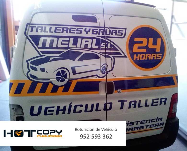 rotulación vinilo coche empresa mijas malaga alhaurin