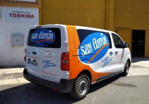 Rotulación de coche furgoneta personalización malaga