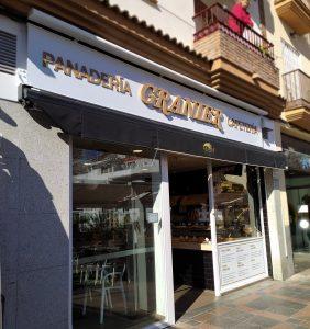 Rótulo de letras corporea en Málaga Necogio